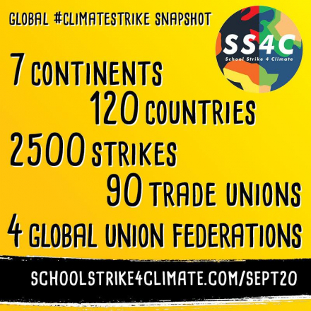 Climate strike participation