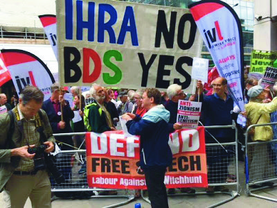 Protest against IHRA