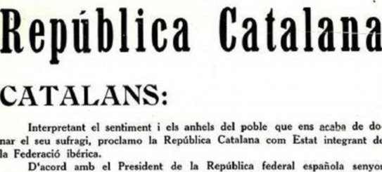Catalan Republic 1931