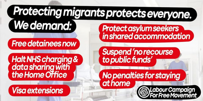 Labour Campaign for Free Movement demands