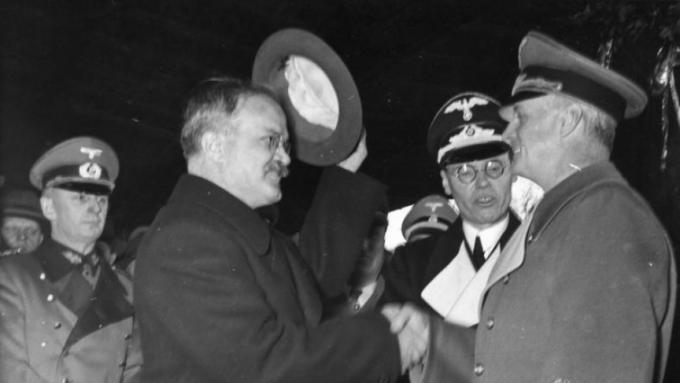 Molotov and Ribbentrop