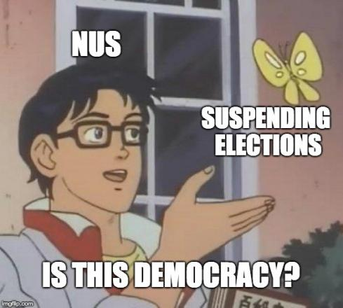 NUS leadership suspends elections