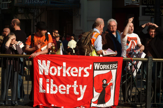 workers liberty banner
