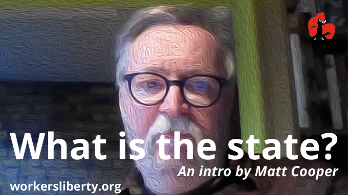 What is the state? An intro by Matt Cooper