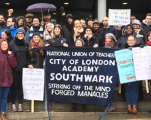 picket line 7 March 2018