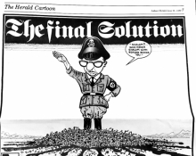 """Final Solution"" cartoon"