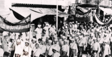 Nationalist demonstration in India, 1920s