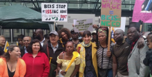 Outsourced civil service workers at BEIS