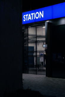 closed station