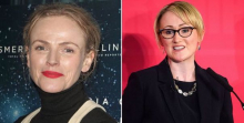 Maxine Peake and Rebecca Long-Bailey