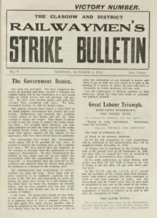 Rail strike bulletin