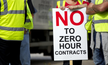 No to zero hour contracts