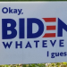 Biden yard sign