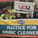 Merseyside HMRC cleaners